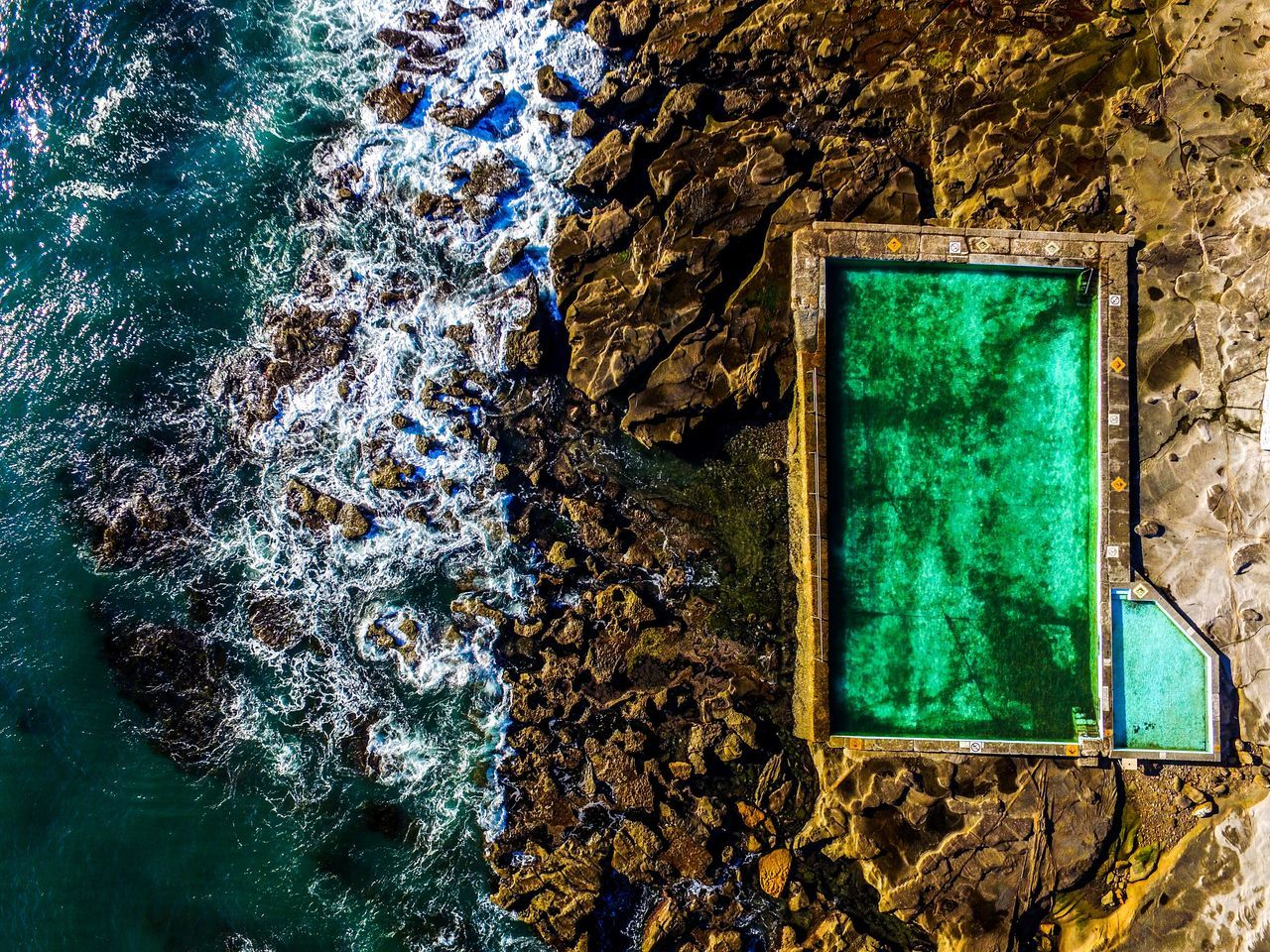 Who would not like to swim here? Beautiful Nature Beauty In Nature Bestoftheday Birds Eye View Cliffs Drone  Drone Moments Drone Photography Dronephotography Drones Droneshot Eye4photography  EyeEm Best Shots EyeEmBestPics From Above  Nature Outdoors Relax Rockpool Rockpools Rough Stunning Swimming Swimming Pool Swimming With The Fish