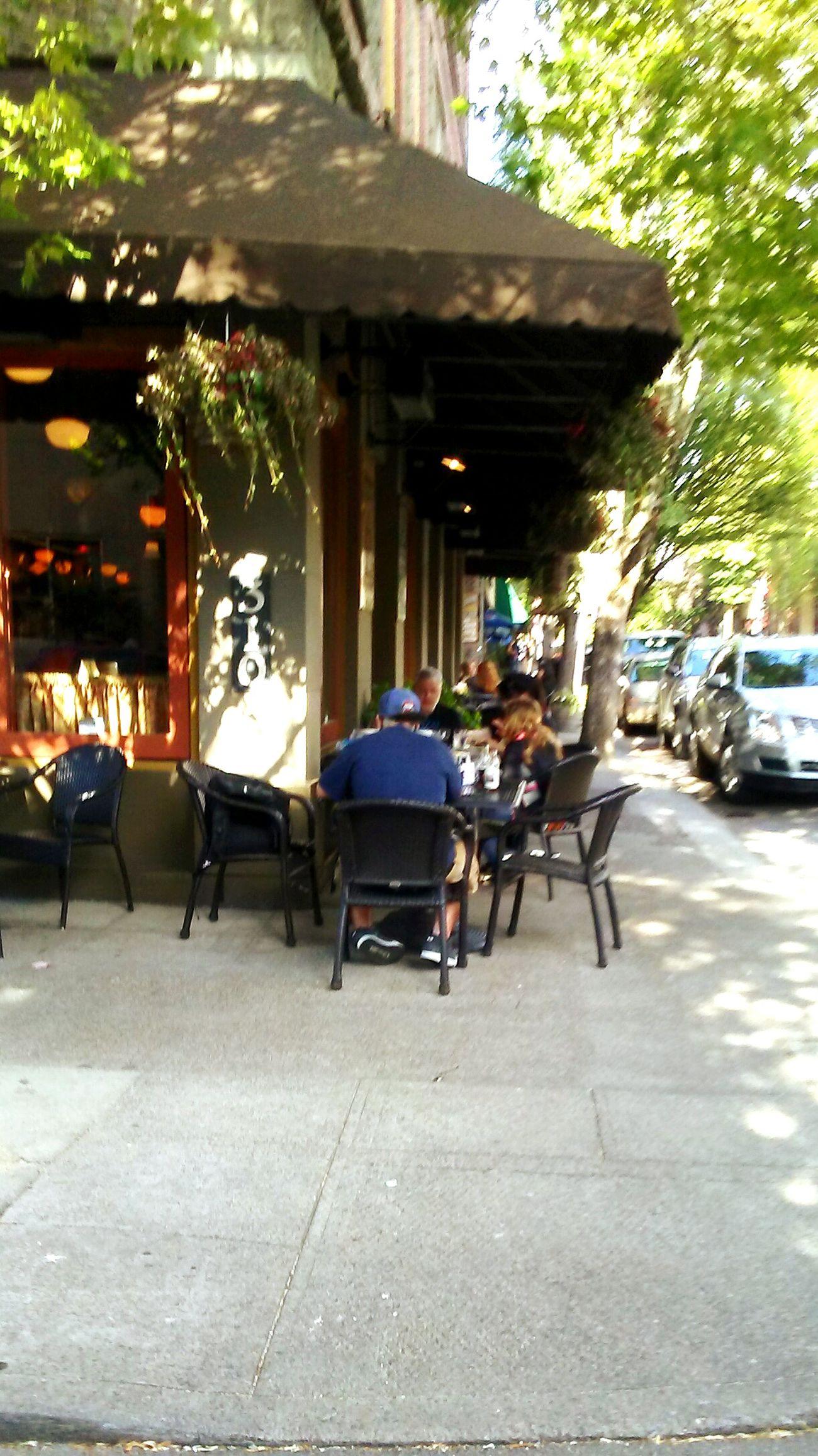 People Watching Diningout Downtown Noshing Restaurant Goodfriends Goodfood. 3rd Street Awardwinningstreet