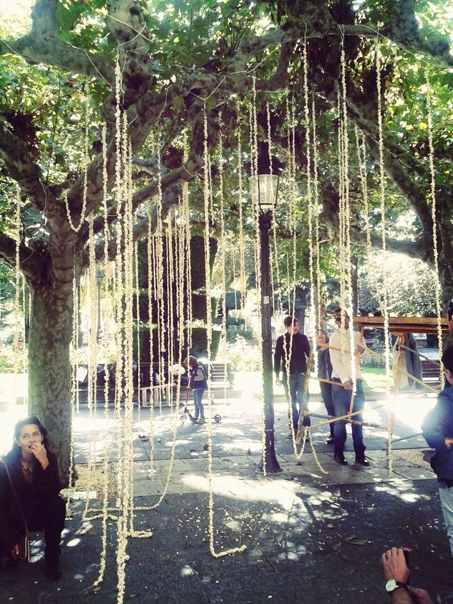 Artistic Intervention Popcorn Burgos