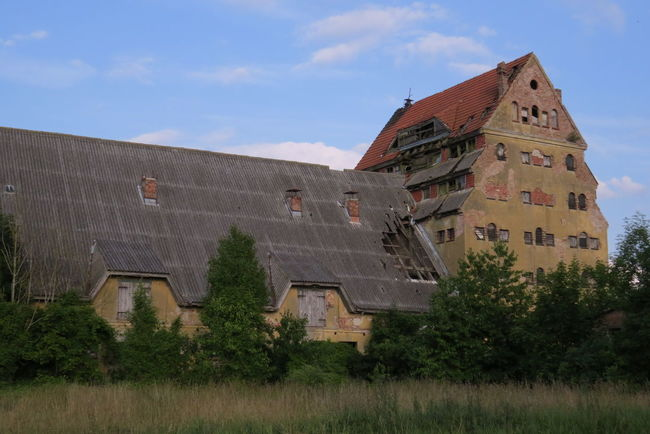 Alter Speicher Architecture Cloud Cloud - Sky Grass Old Building  Old Granary Outdoors Ruins Sky