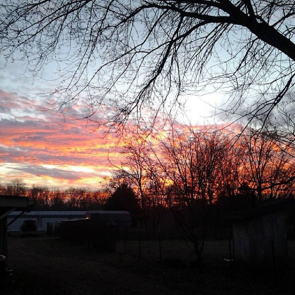 That country sunrise Perksoflivinginthecountry