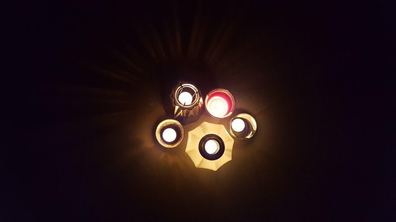 Illuminated Lighting Equipment Dark Indoors  Close-up Clock Face Night Homedecoration Homedecorations Homedecorating No People