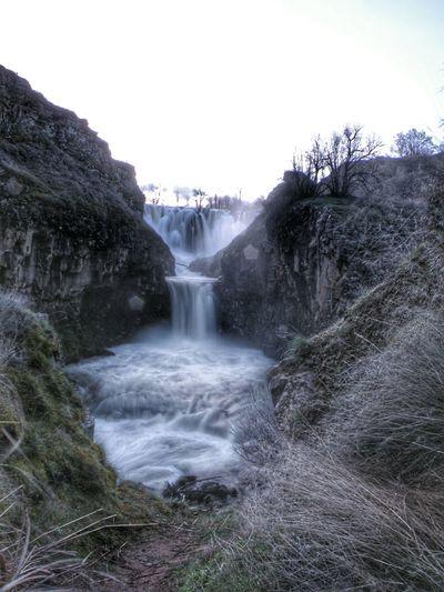 White River Falls Maupin OR. Taking Photos Long Exposure Shot Waterfall #water #landscape #nature #beautiful