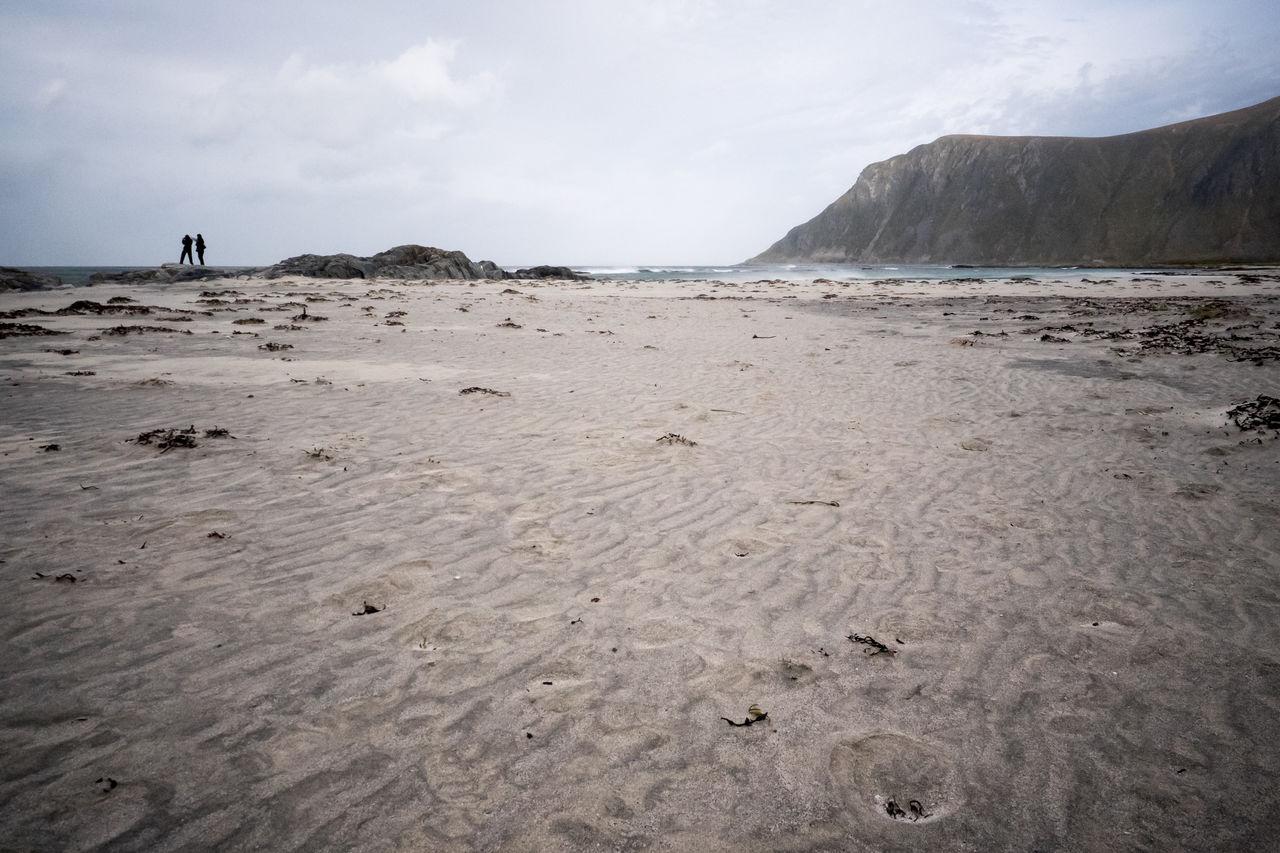 Beach Beauty In Nature Day Flakstad Landscape Lofoten Lofoten Islands Nature No People Outdoors Sand Scenics Sea Sky Water