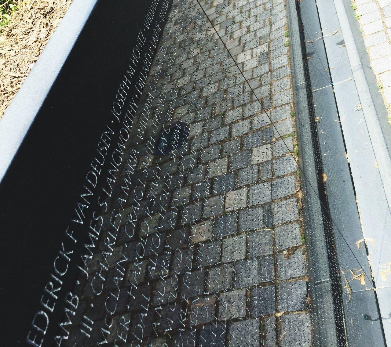Vietnam War Memorial Washington, D. C. US Capital National Monuments Reflection Photography Stone Paved Reflection