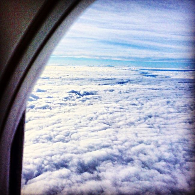 What Does Peace Look Like To You? From An Airplane Window Hello World Trip