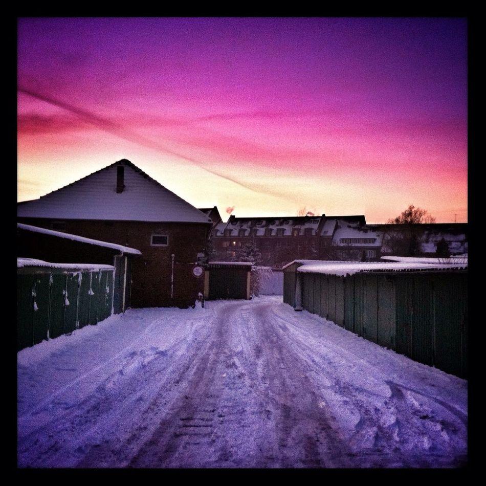 Sunset Snow Snowy Days... Snowy Sunset