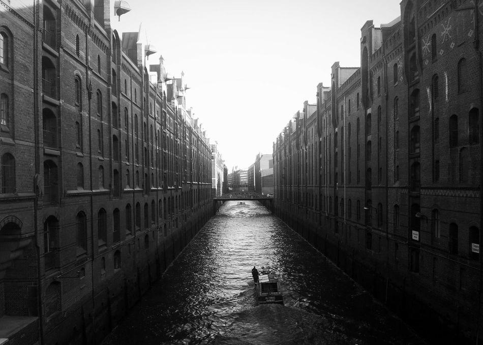 Speicherstadt Taking Photos Enjoying The Sun Water Reflections Quality Time Monochrome Hi!