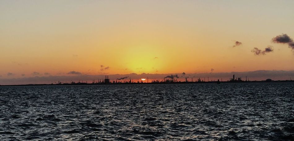 A beautiful sunset at the Texas City Dike Sunset_collection Thesea