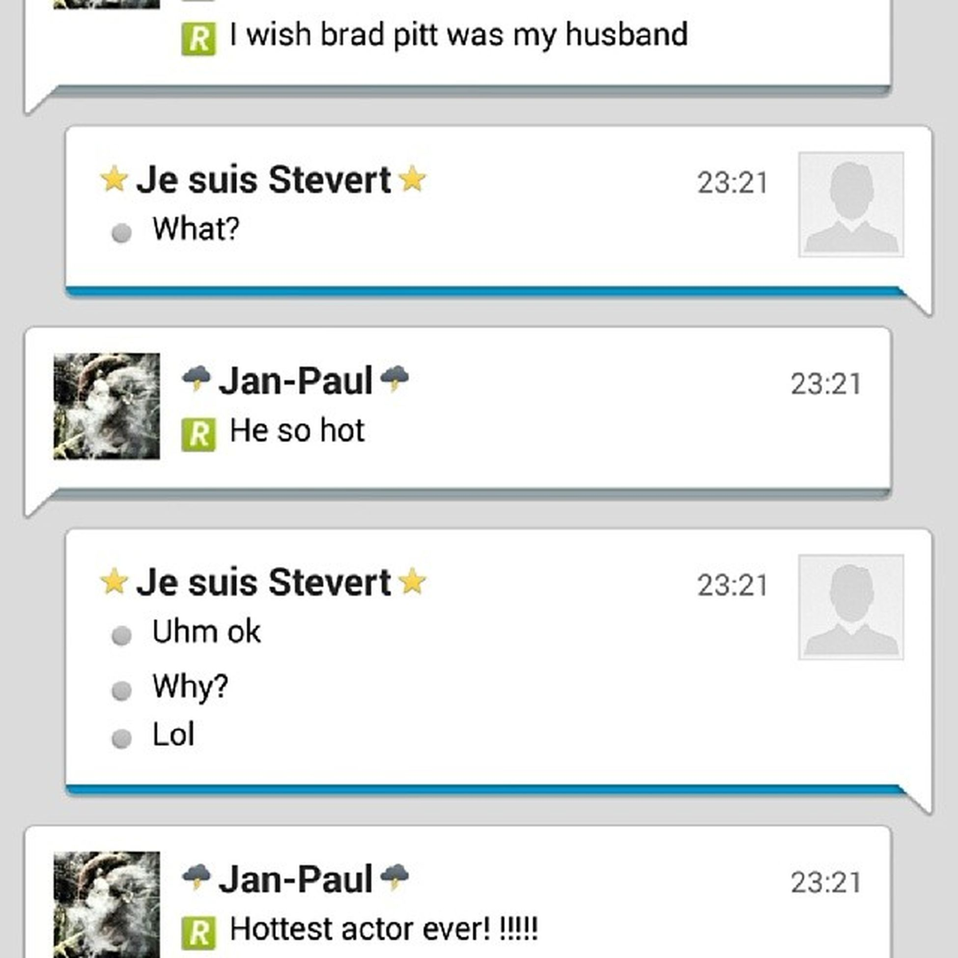 Conversations with @steviestevert aka the fiancé are the best!!! ManCrushMondays MCM Bradpitt Idie