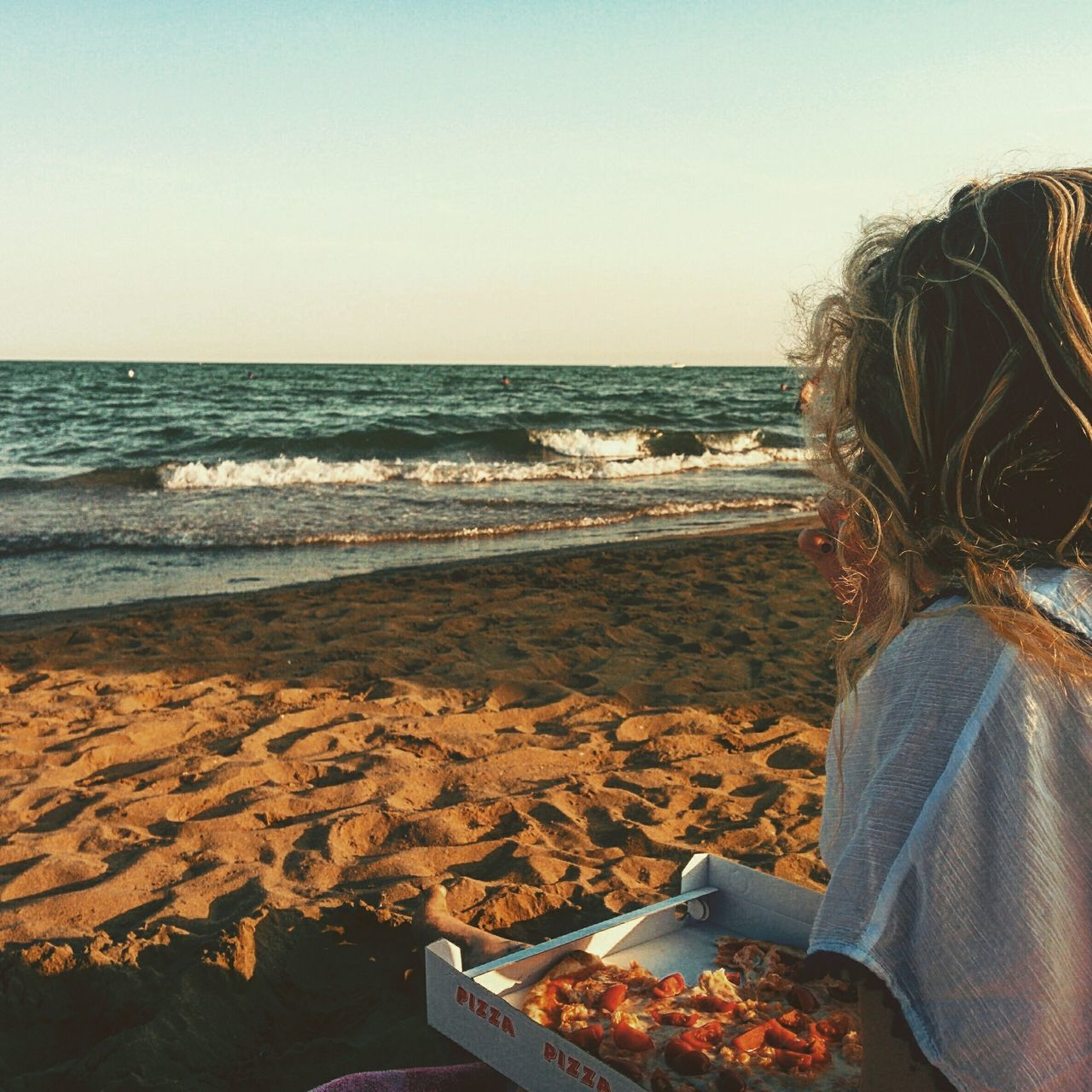 Beautiful stock photos of pizza, Auto Post Production Filter, Beach, Day, Eating