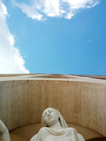 Cloud - Sky Sky Day Outdoors Sculpture No People Arch Architecture City Roma