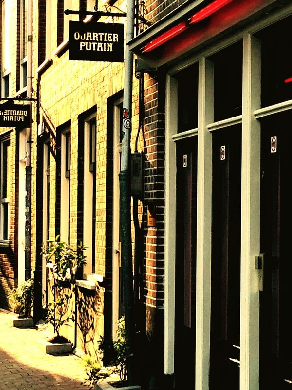 Amsterdam Red Light District Streetphotography Walk Around