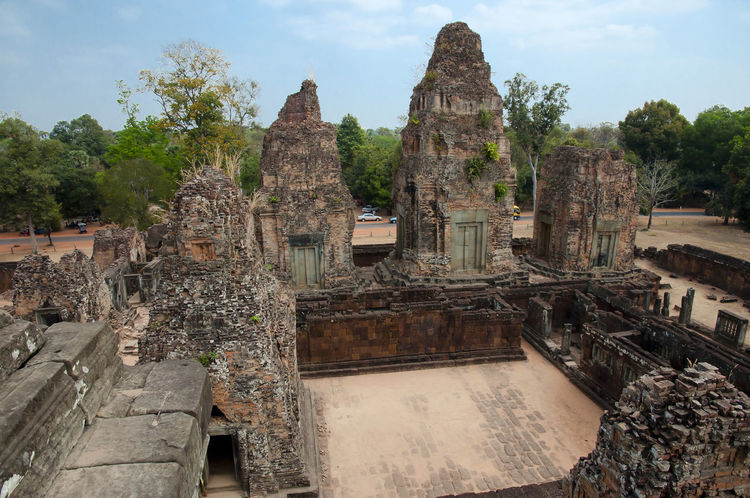 East Mebon Temple - Cambodia Cambodia Siem Reap Ancient Civilization Architecture East Mebon Mebon Old Ruin Place Of Worship Temple