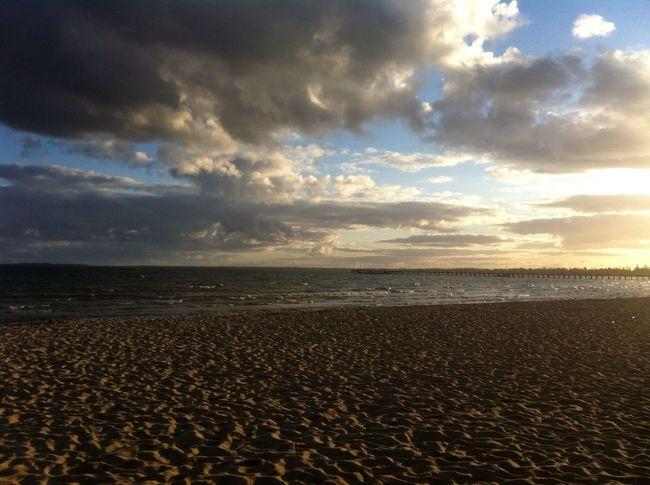 🌊 Beautiful Beach Walking Around Photography