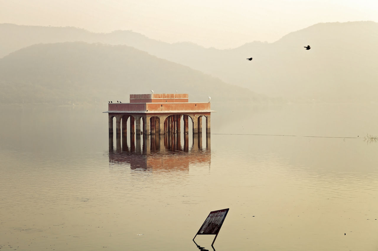 Jal Mahal, Jaipur, India India Jaipur Jal Mahal No People Rajasthan Tranquility Travel Travel Destinations Travel Photography Water