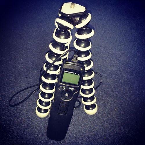 Neues Spielzeug für HDR Timelapse ;-) Gorillapod Tripod Timer Dslrtimer