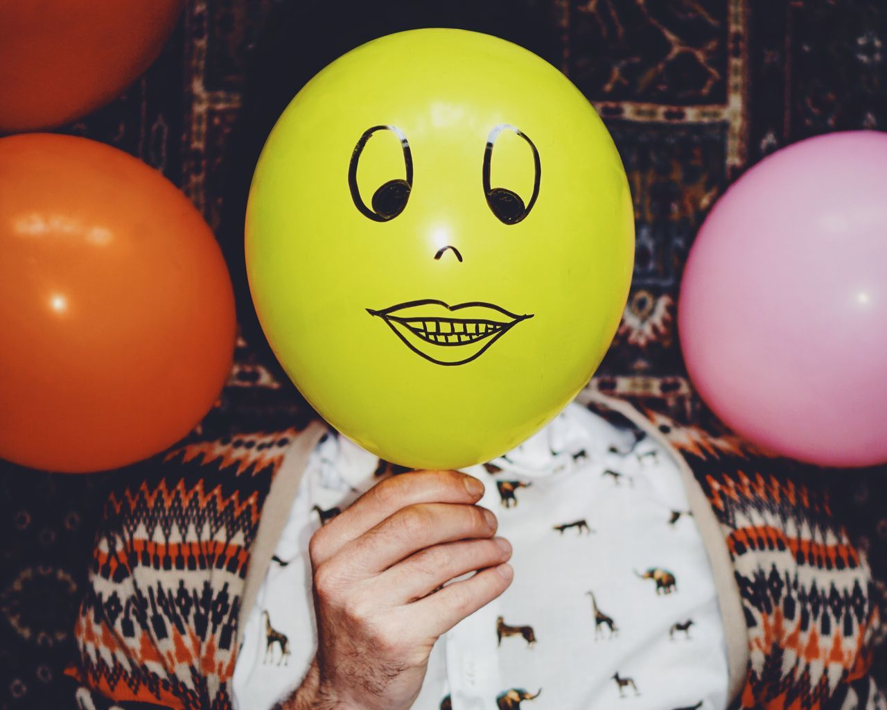 Beautiful stock photos of portrait, Anthropomorphic Face, Balloon, Berlin, Close-Up