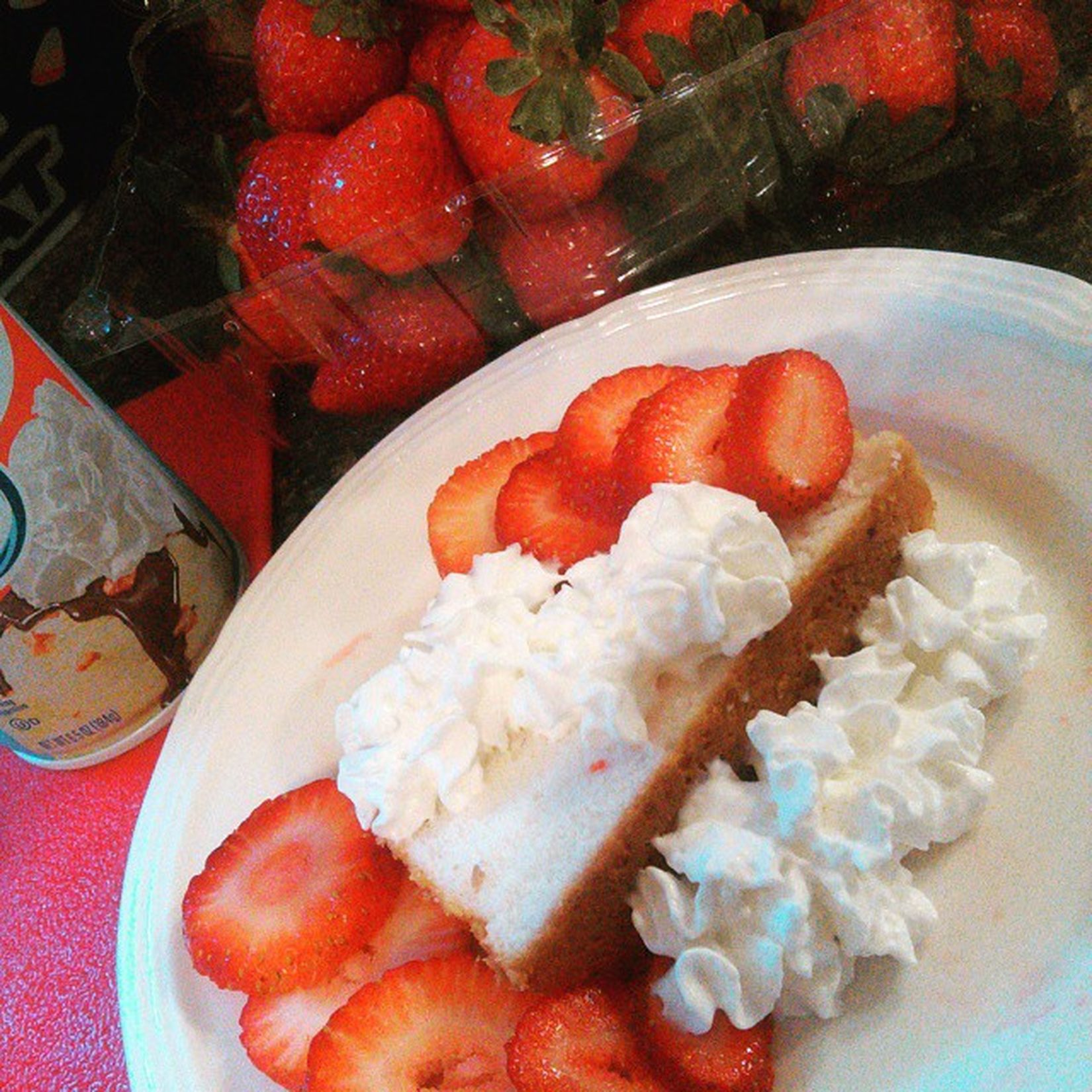Strawberries Straberryshortcake Ilovefruittomuch Lol