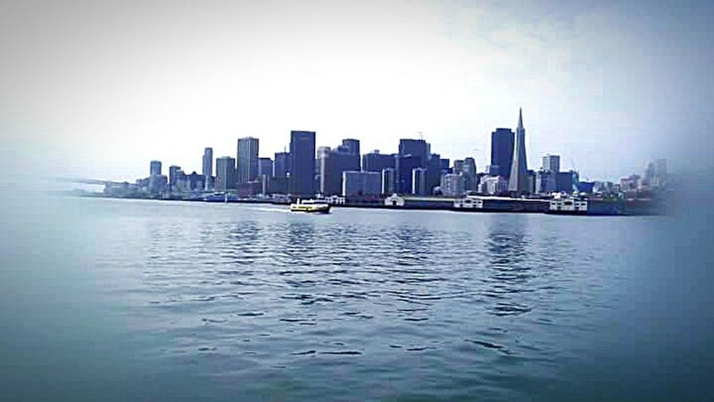 Transamerica Building Transamerica Pyramid Building San Francisco Architecture Photography The Architect - 2016 EyeEm Awards My Photography Houses On Hills Cityscape San Francisco Bay Ferry Boat Reflections On The Water