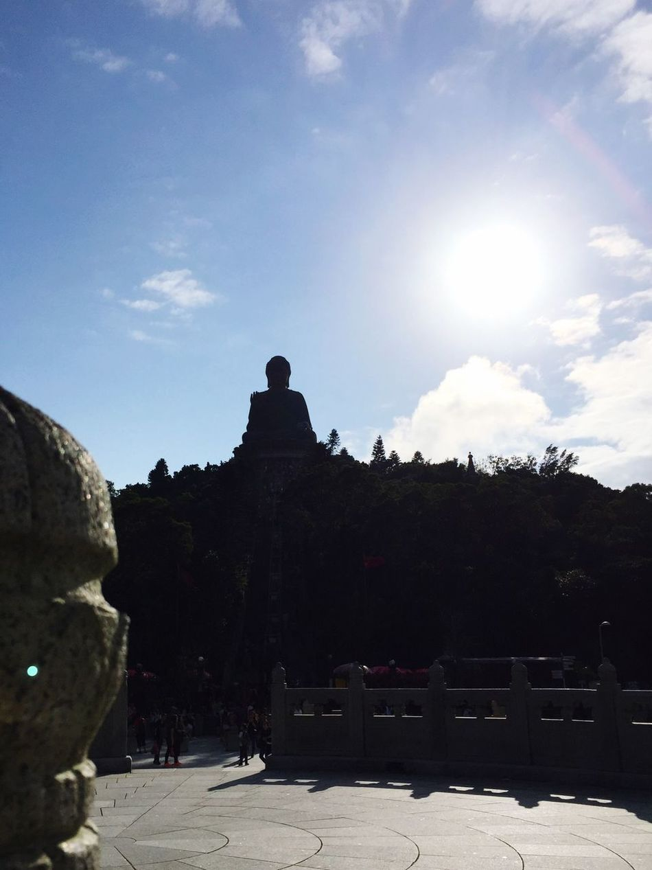 Buddha Hong Kong Architecture TianYanBuddha Sunlight Built Structure History Sun Sky Miracle wonderful