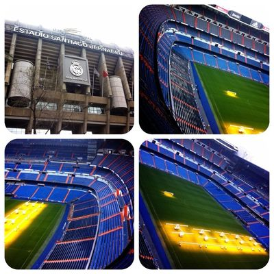 soccer at Estadio Santiago Bernabéu by ❀ⓉⓘⓀⓚⓨ❀