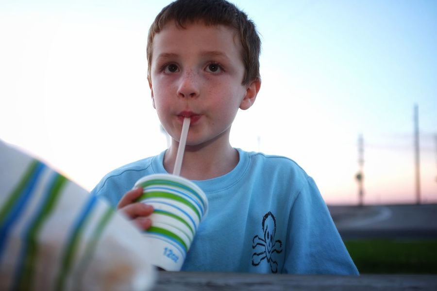 I made a very similar photograph a few years ago that was used in an ad campaign about children and high fructose corn syrup, ironically Victor was drinking milk. here it is a milkshake... August 2016 Friend, Nebraska 35mm Camera A Day In The Life Boy Camera Work Childhood Color Photography Cute Drinking Elementary Age Eye For Photography EyeEm Best Shots EyeEm Gallery FUJIFILM X100S Innocence Lifestyles My Neighborhood Photo Essay Photography Portrait Rural America Small Town America Small Town Stories Summer Summertime Thirst