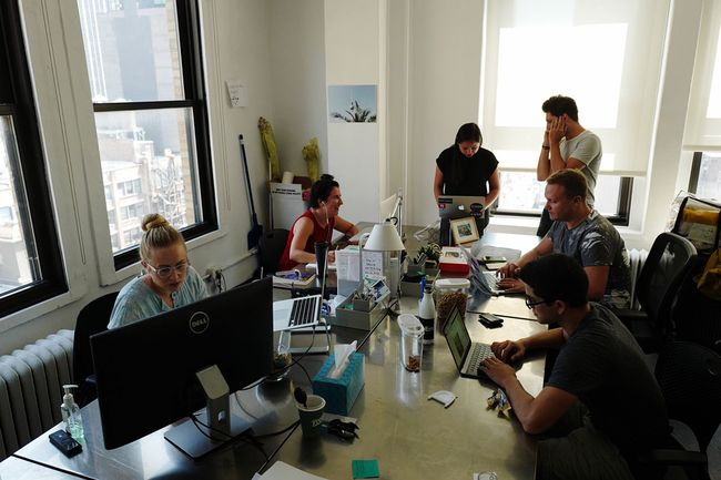 The @EyeEm New York Team in action