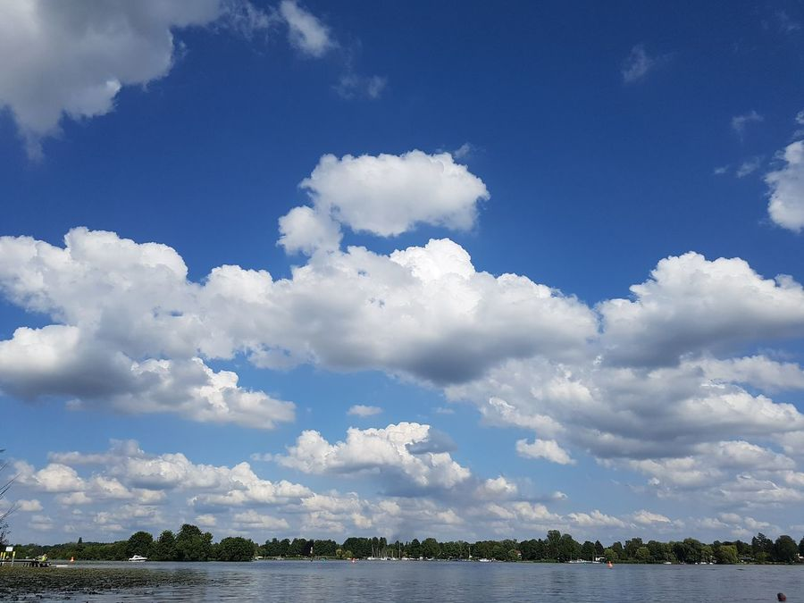 Cloud - Sky Nature Water Outdoors Beauty In Nature Day Lake Blue No People Landscape Sky Wolken Nofiltersneeded Nofilters Naturebeautiful Amazing Wolkenmeer Beach Wasser Sunny Niederneuendorf