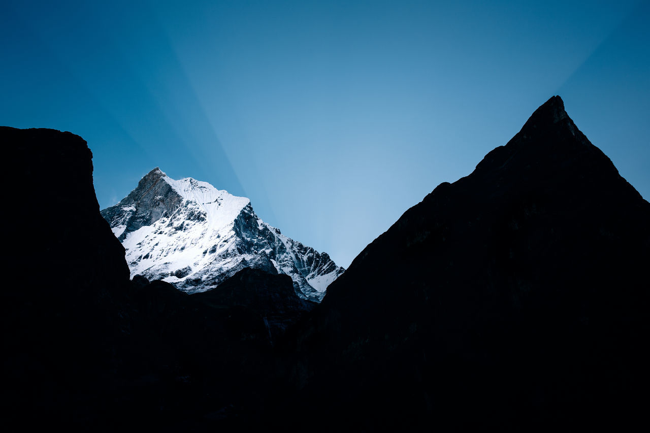 A 10-Day Trekking Adventure into Nepal's Annapurna Range Adventure Annapurna Beauty In Nature Cold Temperature Hike Hiking Himalayan Himalayas Journey Mountain Mountain Range Mountaineering Mountains Mountainscape Nature Nepal Nepal Travel Scenics Silhouette Snow Tranquil Scene Tranquility Travel Trekking Winter The Great Outdoors - 2017 EyeEm Awards