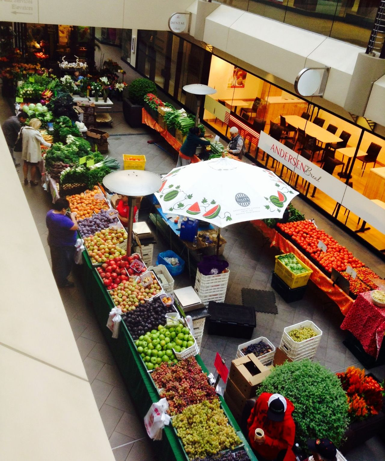 High Angle View Market Market Stall Retail  Freshness Multi Colored Flower Market EyeEmNewHere Flying High