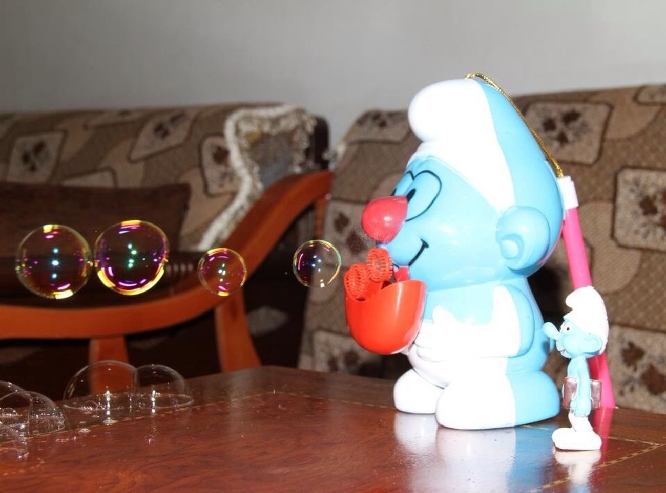 My small and big smurfs Toys Smurfs Playing Streamzoofamily