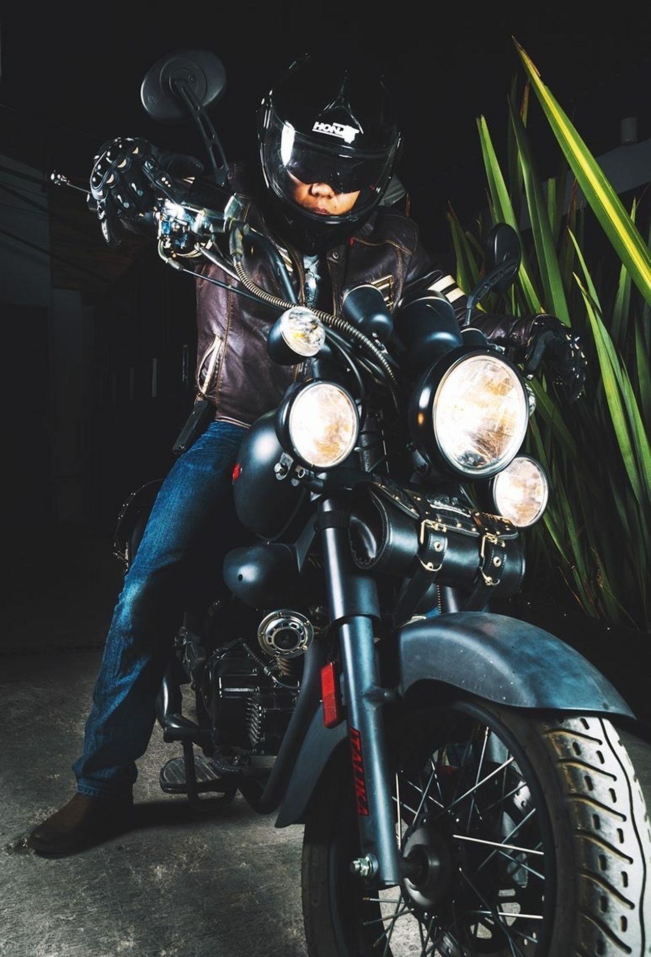 Me y my first love. ITALIKA Tc200 Motorcycle Ride Or Die