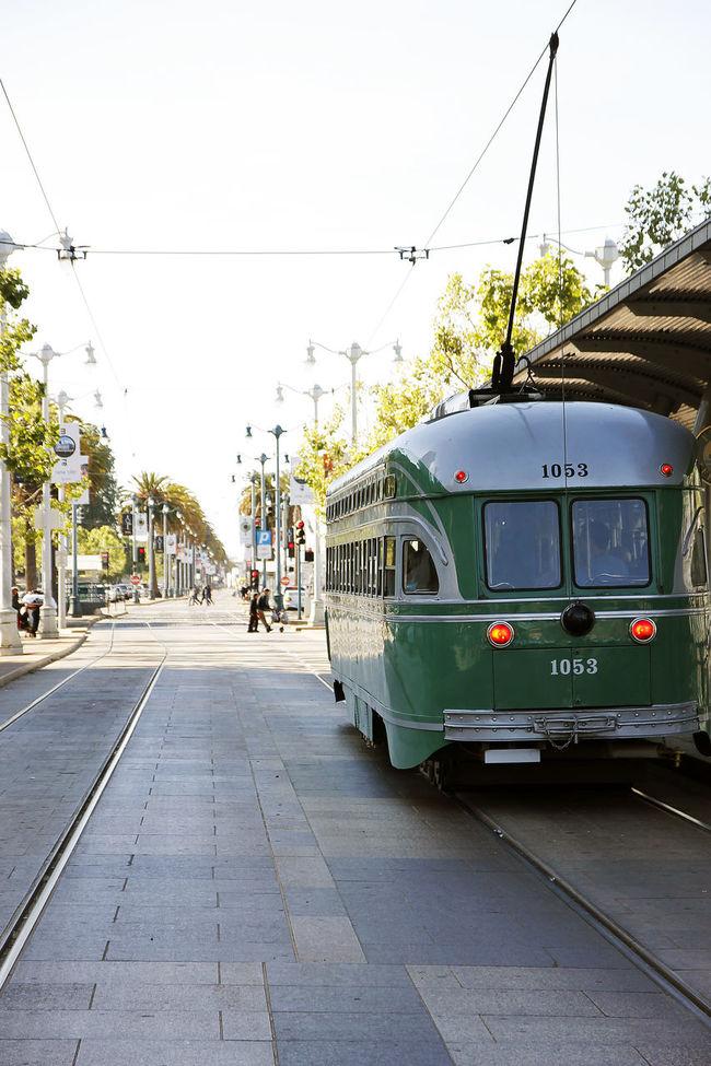 Cable Car City Day Horizontal Mode Of Transport No People Outdoors Public Transportation San Francisco Sky Tram Transportation Travel Travel Destinations Vacations