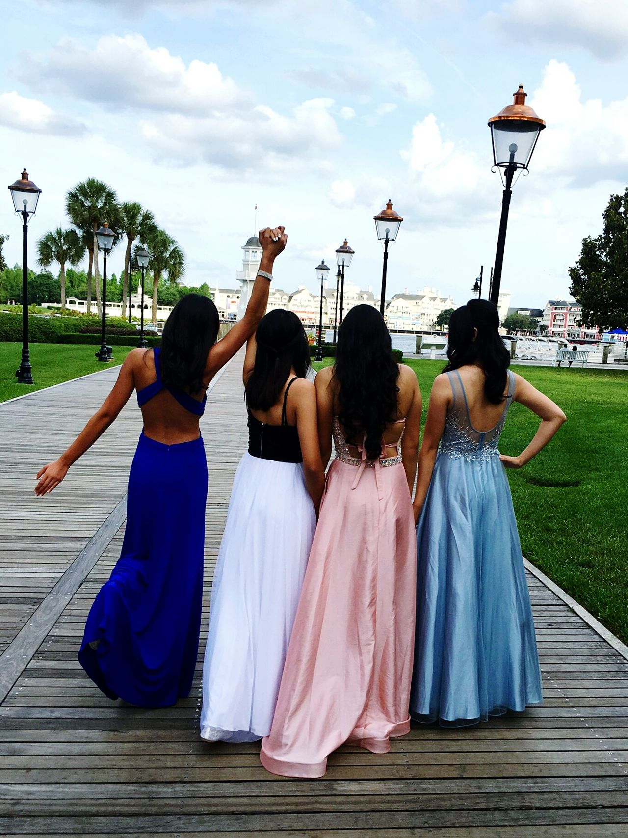 Beautiful stock photos of prom, rear view, cultures, full length, friendship