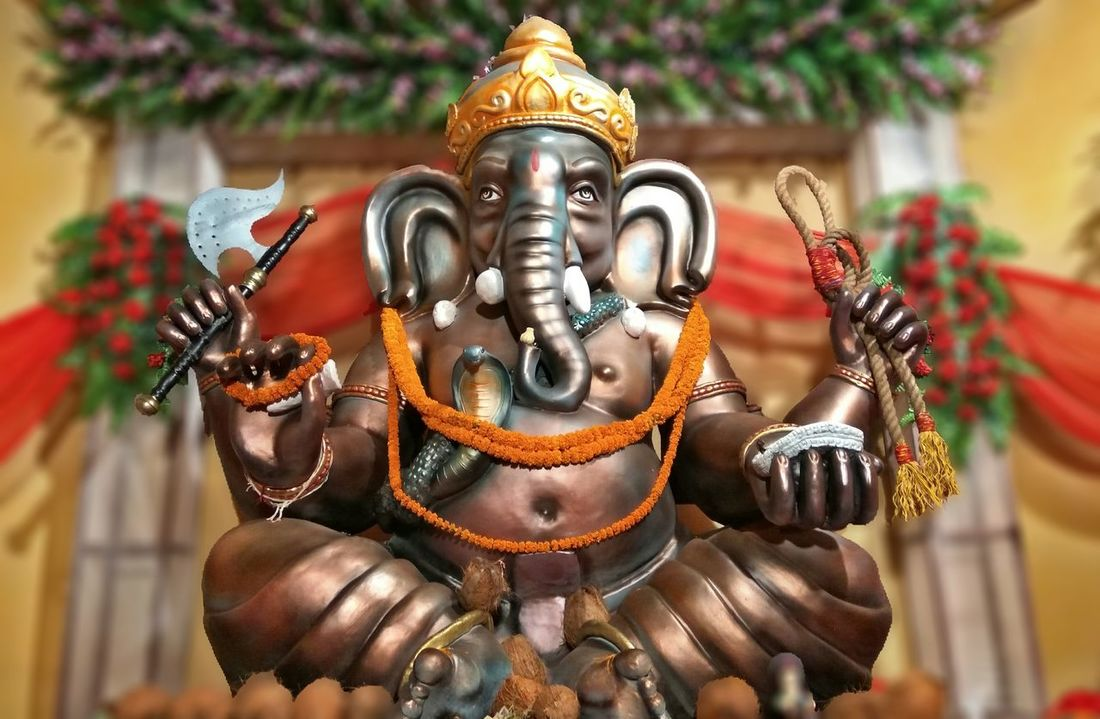 Ganesha Chaturthi Ganesha Lord Of Success Ganesha Portrait Ganeshfestival Ganesh Mahotsava Ganesha Idols Ganesh Idols Art Is Everywhere