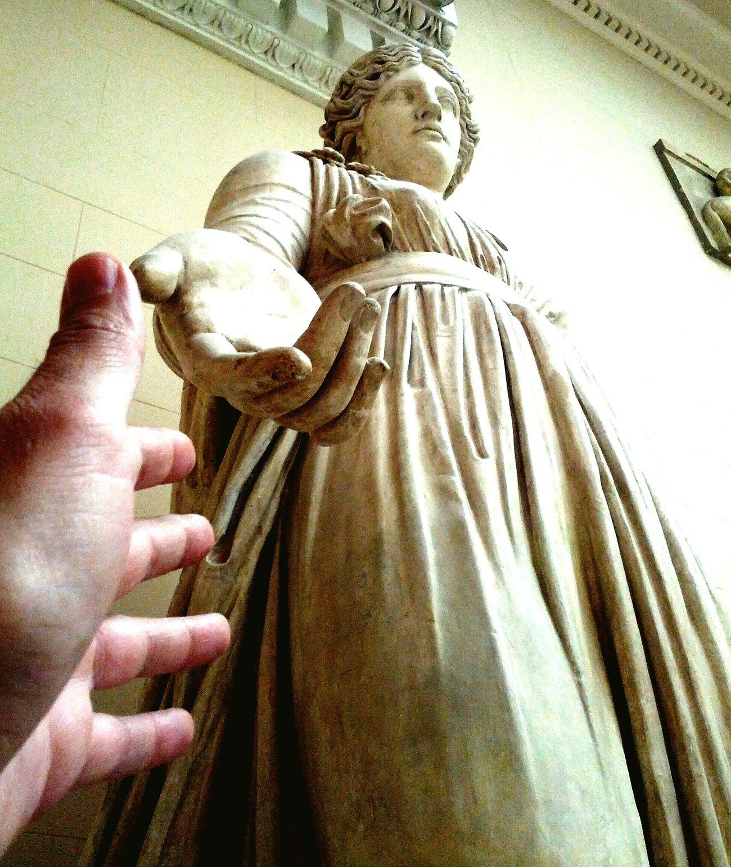 Museum Moscow Antic Sculpture Gigant Travel Art