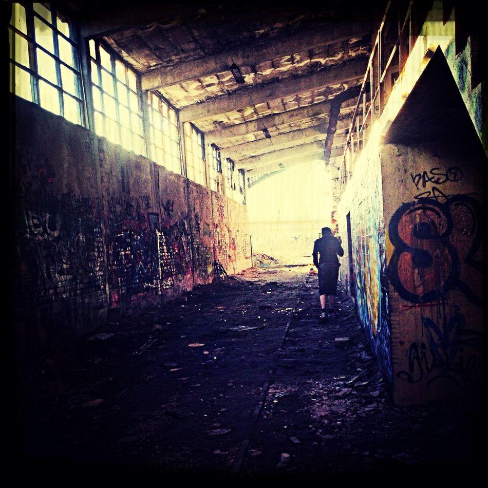 Abandoned Street Graffiti