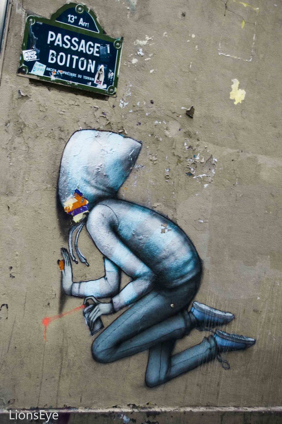 Paris ❤ La Butte Aux Cailles Wall Art Streetart
