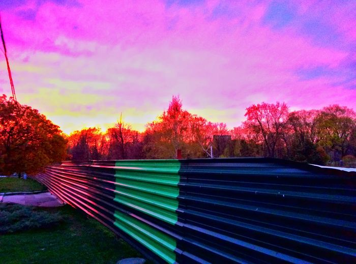 Multi Colored Nature Sky Sunset Snapseed Spring Colorful Kharkiv Kharkov
