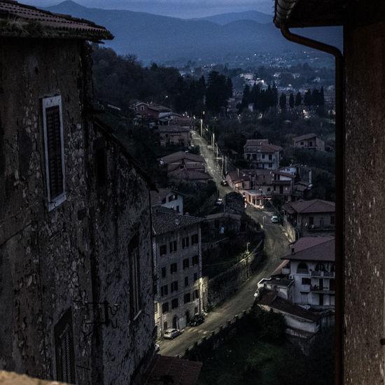 Luci Panorama View Vista Architecture Borgo Antico Building Exterior City Cityscape No People Notte Outdoors