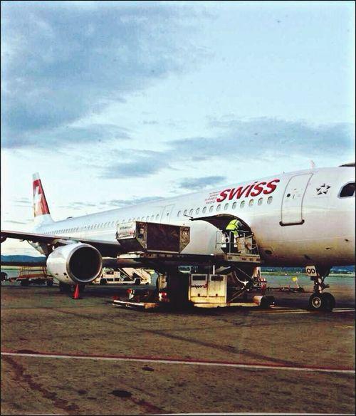 Athens Internatonal Airport Athens Swissair Instaplane #megaplane #jet #aviation #pilot #aircraft At The Airport