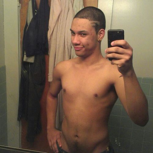 fresh out the shower.
