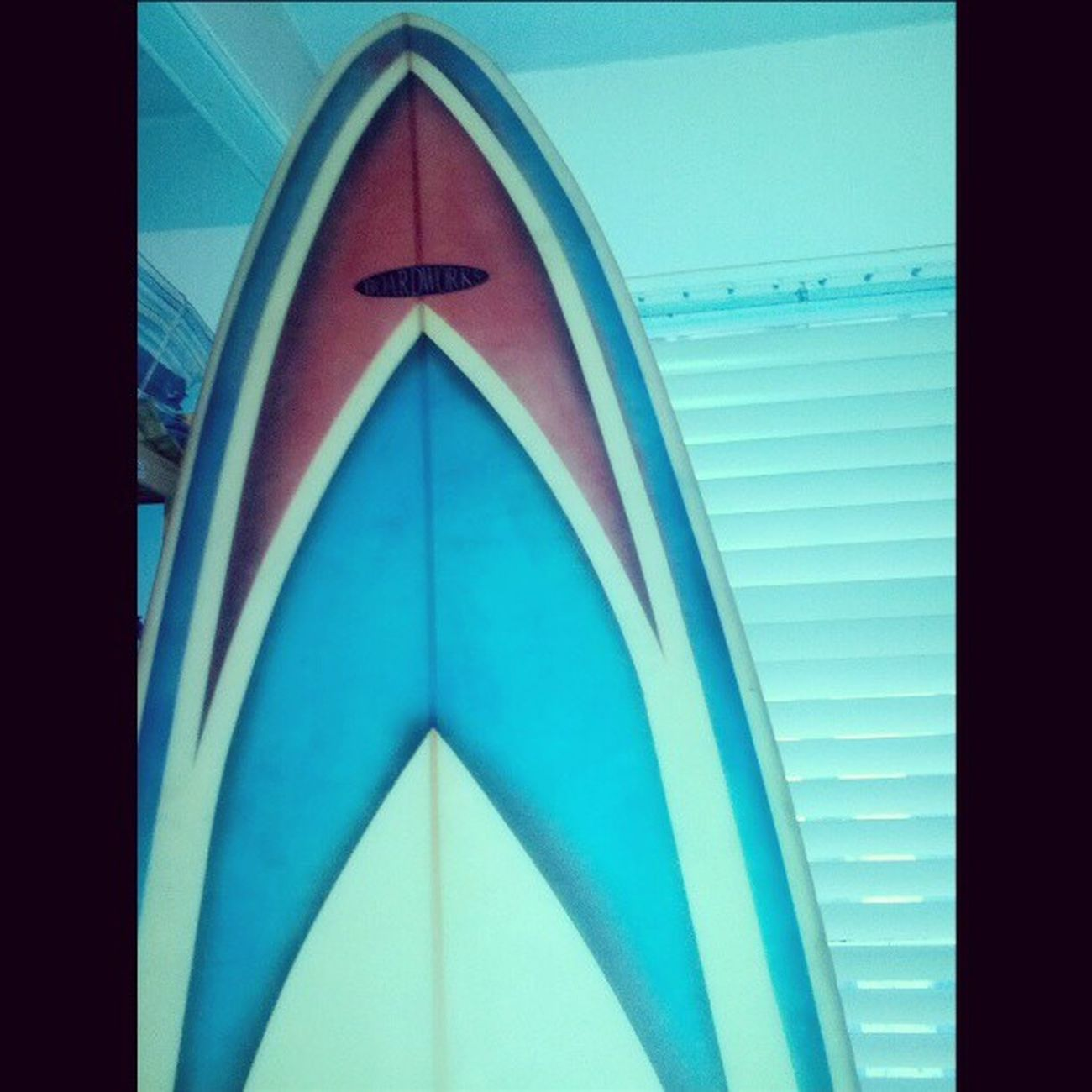 Not what I expect to find in a company Server room! Surfboard Startrek