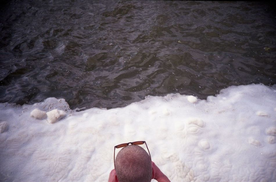 Water Curonian Bay High Angle View Ice Klaipeda Lomo Lomography Nature Outdoors Portrait Sea Water