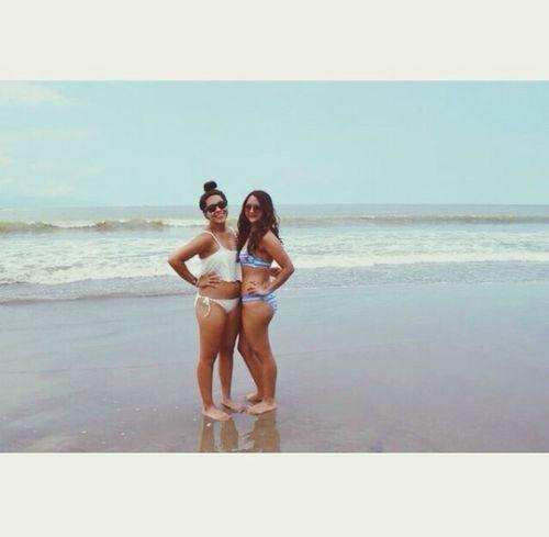 Having a blast in Puerto Vallarta Beach Girls Nice Cute