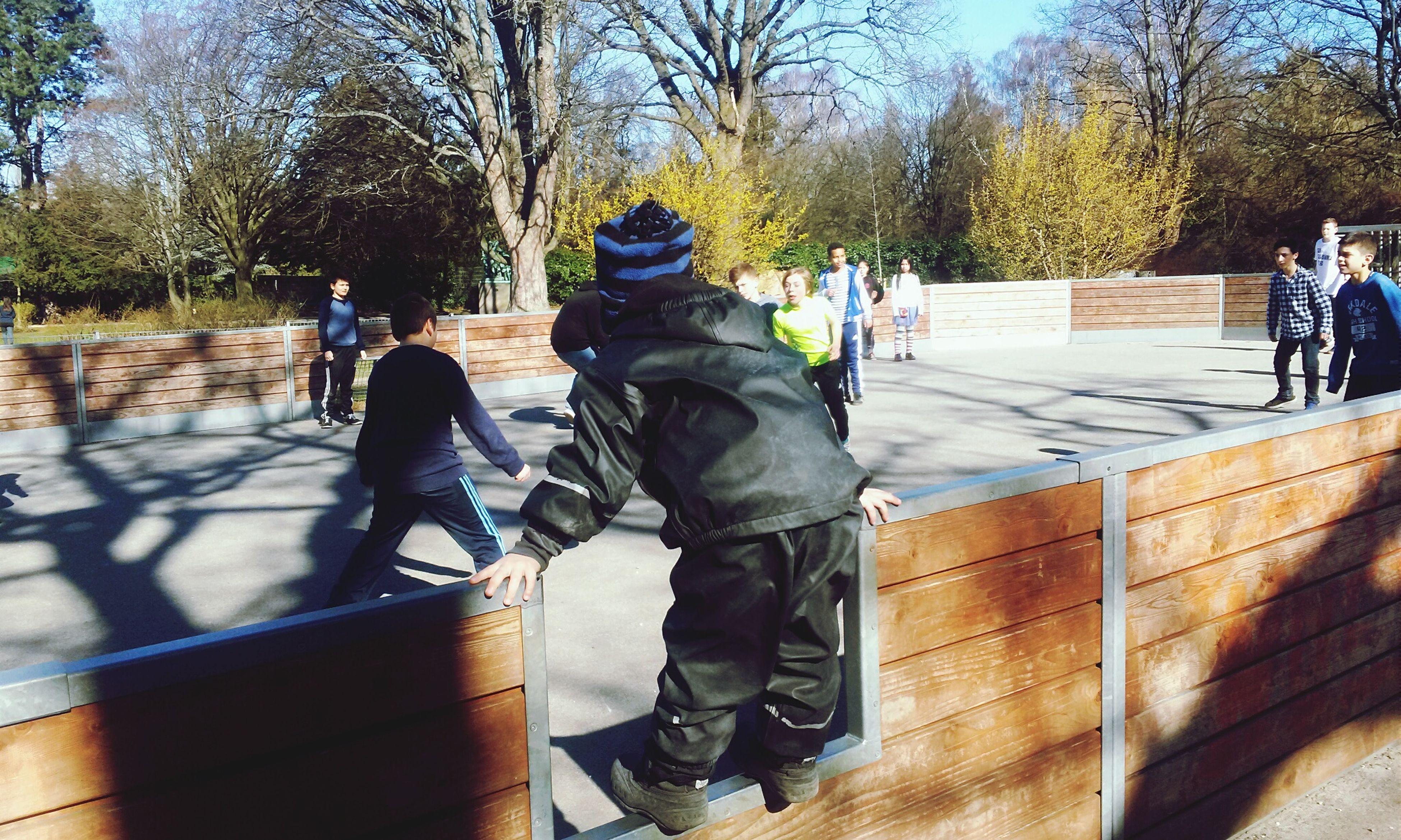 Quality Time Playing Taking Photos Playground At School Joyful Football Footballislife