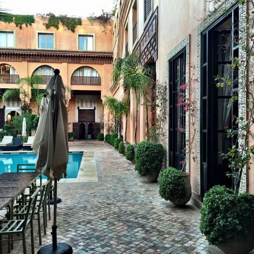 Marrakesch Les Jardins De Koutoubia Relaxing Travel Arabic Style Love This! Morning Light Enjoying Life Pool Green The Essence Of Summer