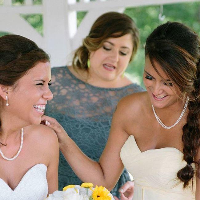 Mysisterswedding Babysis Weddingfun Smile and Tears Smiles Browneyegirls