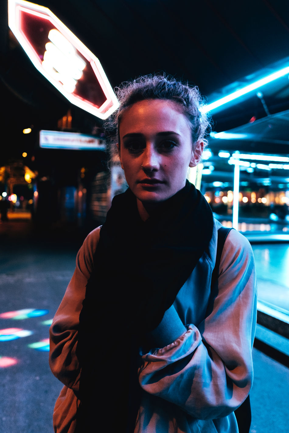 Wiener Prater Cities At Night Vienna EyeEm Best Shots Lowlightleague Shootermag Notes From The Underground Lowlightphotography Light And Shadow Portrait Urban Mood EyeEm Gallery The Portraitist - 2016 EyeEm Awards Lowlight Austria Night Photography Streets Of Vienna Neon Lights EyeEm X Huawei - Cities At Night